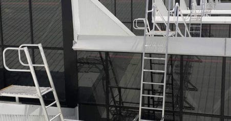 Fixed Ladders And Steps