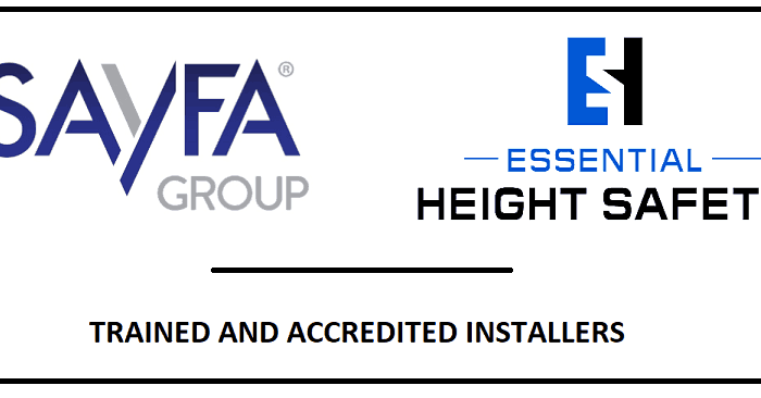Sayfa Sayfa Group Sayfa Systems Accredited Installer Essential Height Safety
