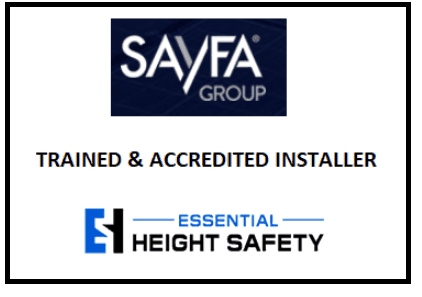 Essential Height Safety Sayfa Accredited In Staller Sayfa Installer Sayfa Group Installer