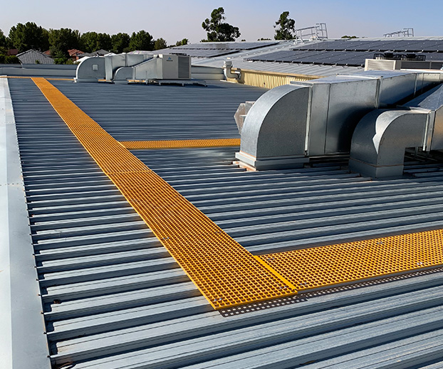 Roof Platform Systems | Roof Access Platform | Roof Walkway