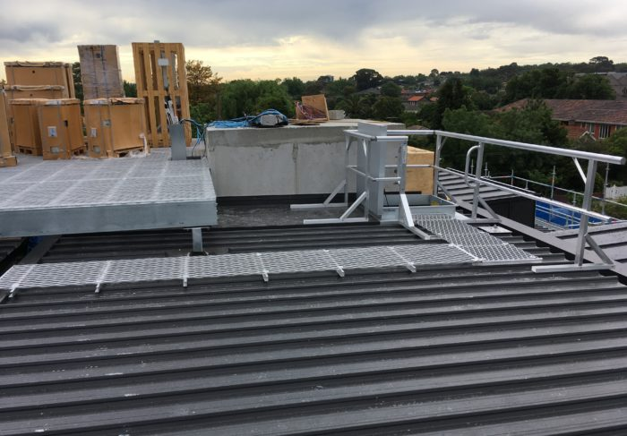 roof access solution brisbane, roof safety solutions brisbane