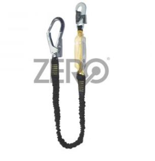 Zero Energy Absorbing Lanyard With Scaffold Hook