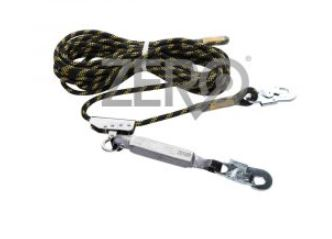 Zero Kernmantle Rope Lifeline With Length Adjuster & Energy Absorber